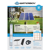 3HR300-B35:  Solar Pump Kit for Bores
